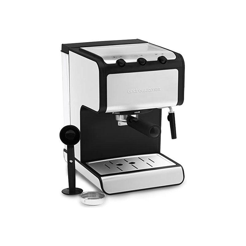 Andrew James Espresso Machine Barista Coffee Machine 1.4L 850W-1