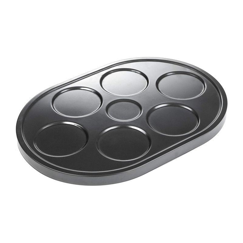 Andrew James Mini Pancakes & Crepes Metal Raclette Attachment / Additional Grill Plate-1
