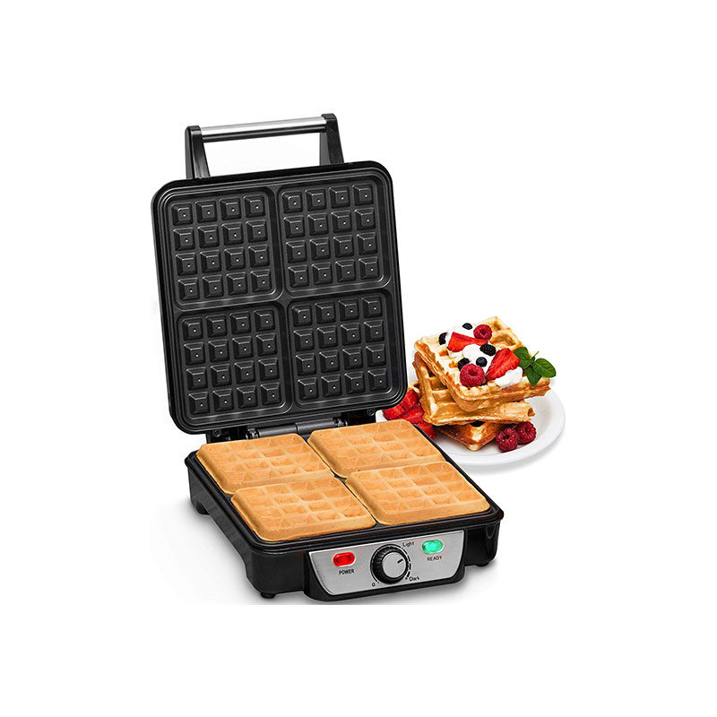 Andrew James Waffle Maker 4 Slice Belgian Style Electric Machine-1