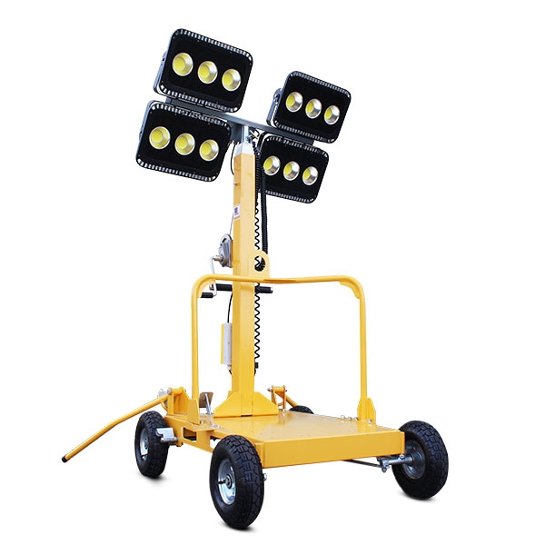 Evopower LT600-LED-I 600W LED Mobile Lighting Tower | Hyundai Power Equipment