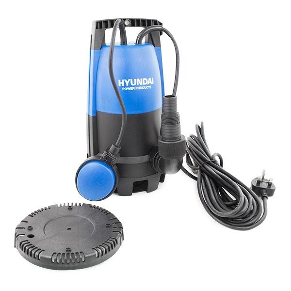 HYUNDAI HYSP400CD 400W Electric Submersible Clean / Dirty & Low Depth Water Pump | Hyundai Power Equipment