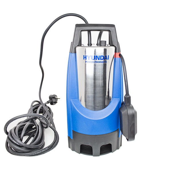 HYUNDAI HYSP850D 850W Stainless Steel Electric Submersible Dirty Water Pump | Hyundai Power Equipment