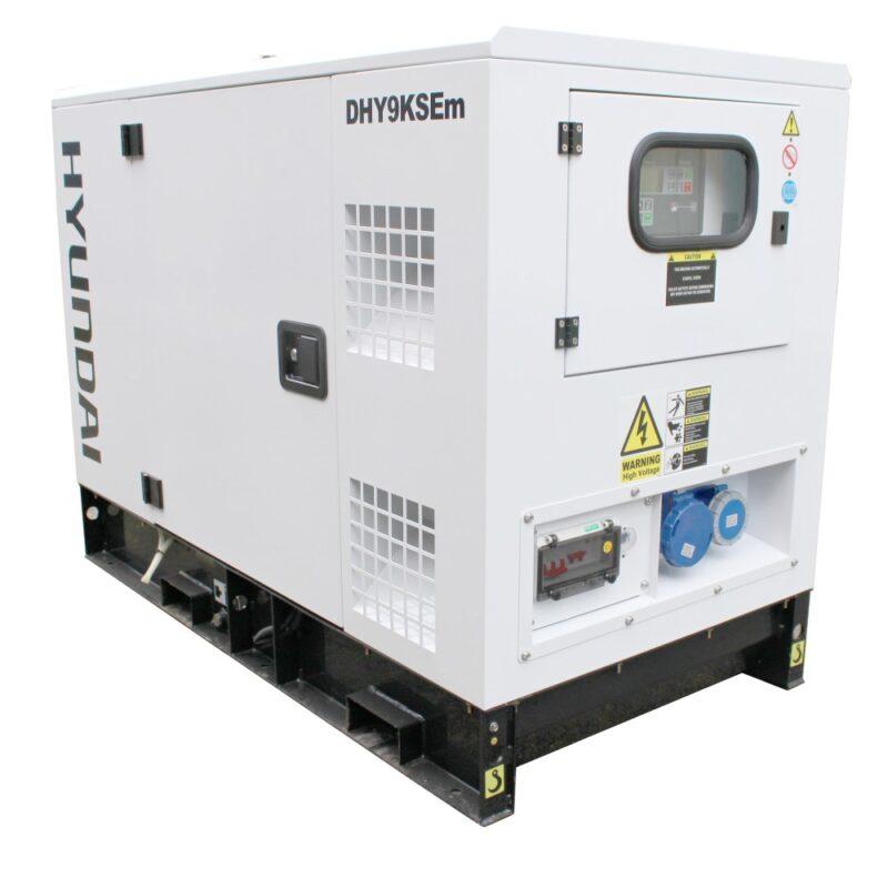 Hyundai 11kVA Single Phase Diesel Generator DHY9KSEm | Hyundai Power Equipment