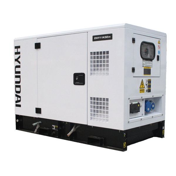 Hyundai 14kVA Diesel Generator Single Phase DHY11KSEm | Hyundai Power Equipment