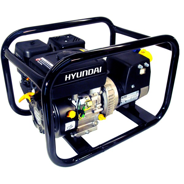 Hyundai 2.7kW HirePro® Industrial Petrol Generator HY3400 | Hyundai Power Equipment