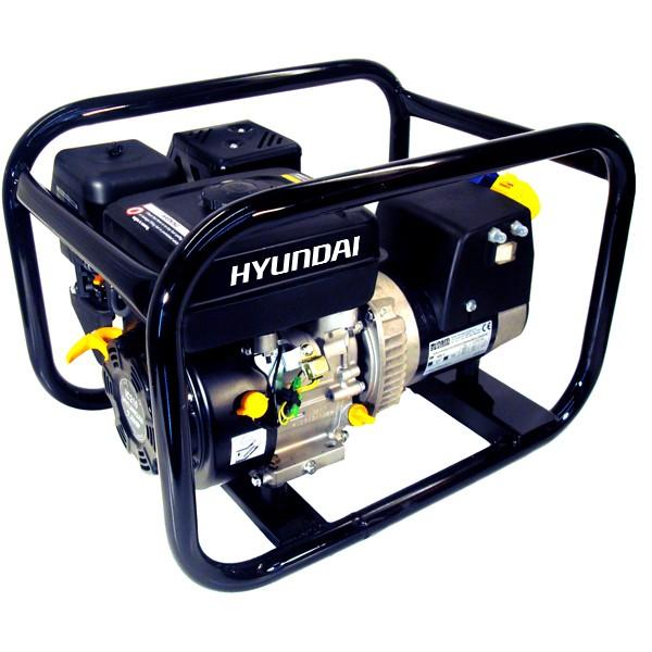 Hyundai 2.7kW HirePro® Industrial Petrol Generator HY3400 | Hyundai Power Equipment