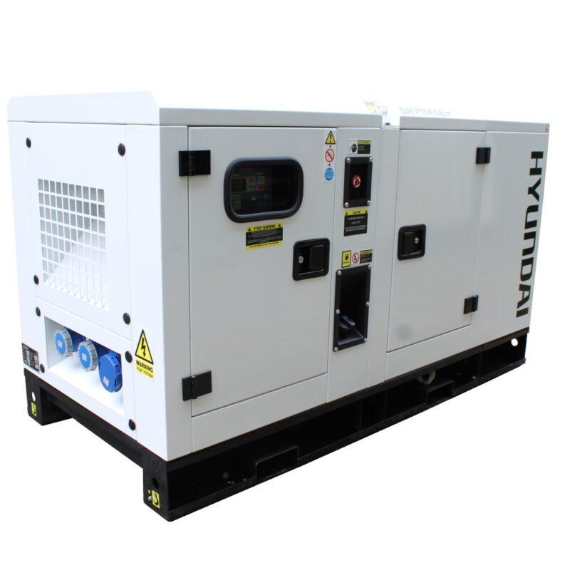 Hyundai 22kVA Diesel Generator Single Phase DHY18KSEm | Hyundai Power Equipment