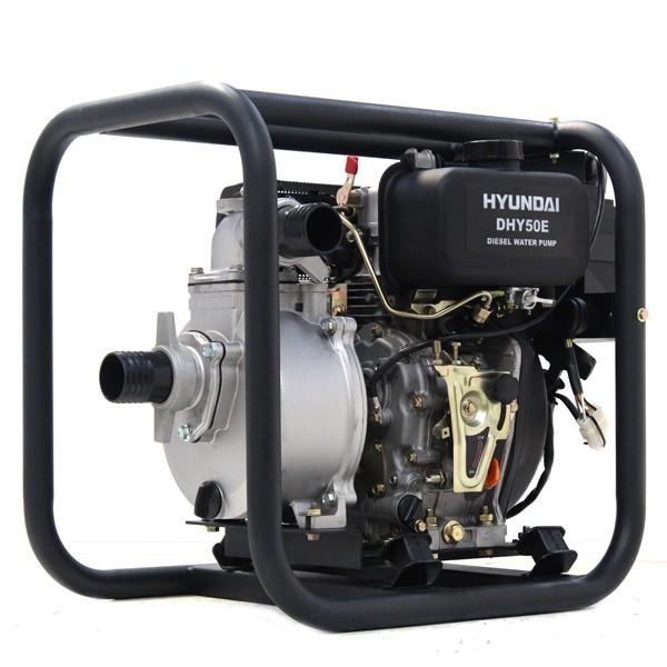 Hyundai 50mm Electric Start Diesel Water Pump DHY50E | Hyundai Power Equipment
