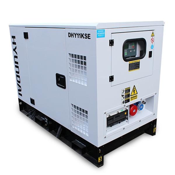 Hyundai DHY11KSE 1500rpm 11kVA Three Phase Diesel Generator | Hyundai Power Equipment