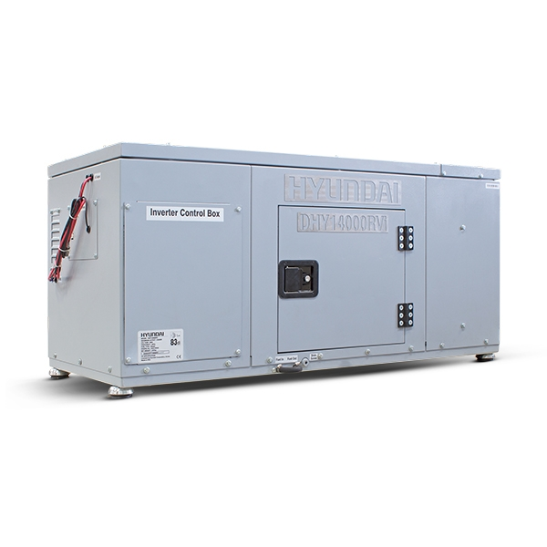 Hyundai DHY14000RVi 14kW Vehicle RV Diesel Generator | Hyundai Power Equipment