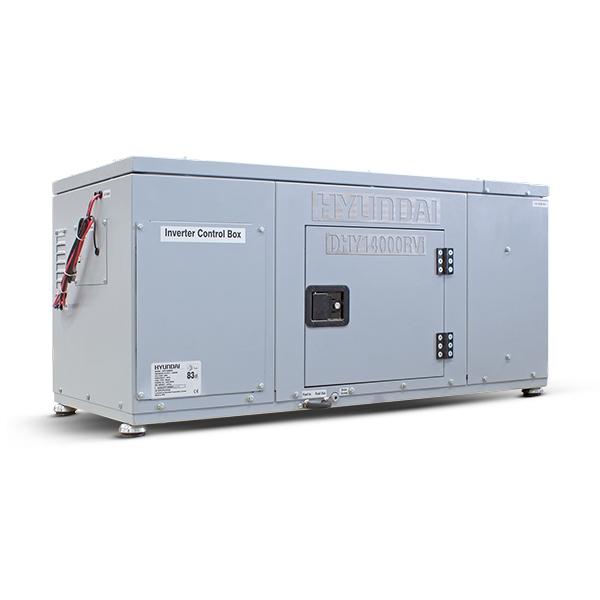 Hyundai DHY14000RVi 14kW Vehicle RV Diesel Generator   Hyundai Power Equipment