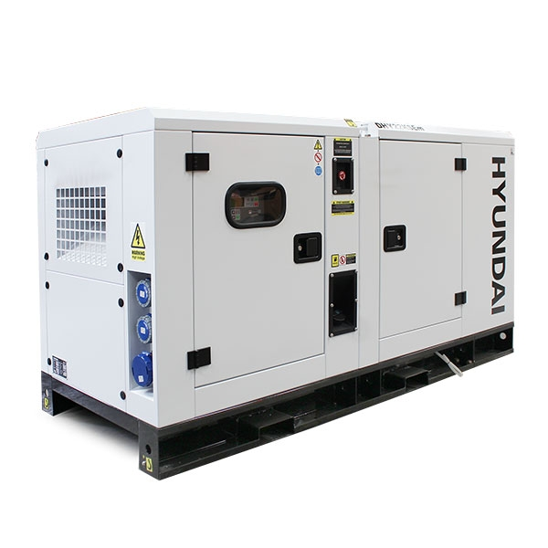 Hyundai DHY22KSEm 1500rpm 22kW/27.5kVA Single Phase Diesel Generator | Hyundai Power Equipment