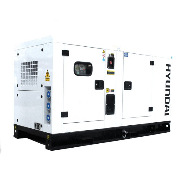 Hyundai DHY28KSE 1500rpm 28kVA Three Phase Diesel Generator | Hyundai Power Equipment