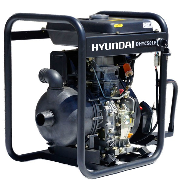 Hyundai DHYC50LE 50mm 2 Electric Start Diesel Chemical Water Pump