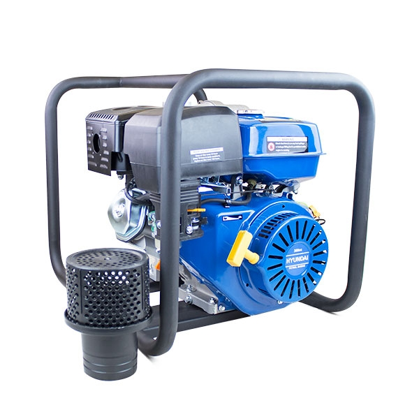 Hyundai HY100 389cc 13hp Professional Petrol Water Pump - 4/100mm Outlet