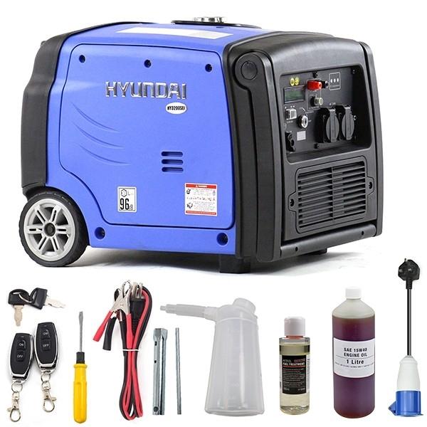 Hyundai HY3200SEi 3200W Portable Inverter Generator | Hyundai Power Equipment