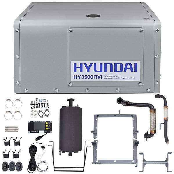 Hyundai HY3500RVi with Fixed Frame   Hyundai Power Equipment