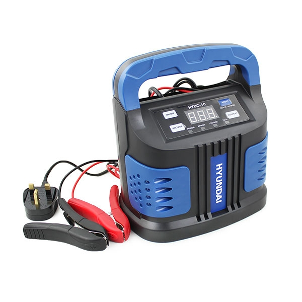 Hyundai HYBC-10 Battery Boost Charger 6v & 12v 15 Amp | Hyundai Power Equipment