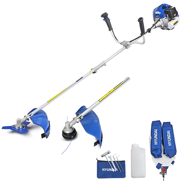 Hyundai HYBC5200X 52cc Petrol Grass Trimmer / Strimmer / Brushcutter | Hyundai Power Equipment