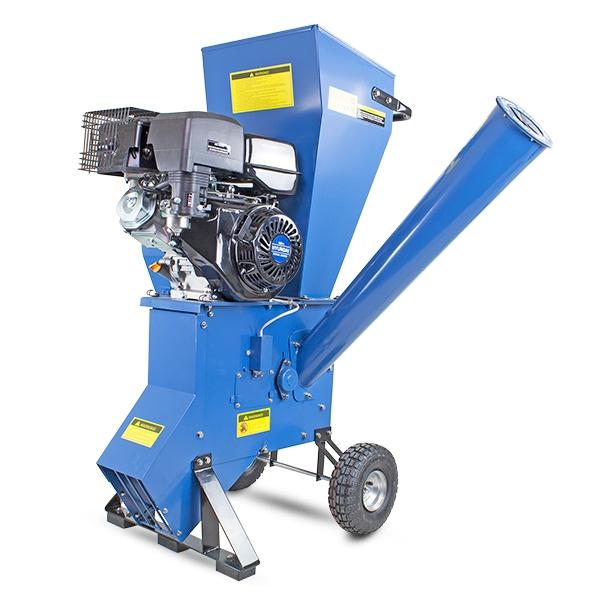 Hyundai HYCH1400 420cc 102mm Petrol 4-Stroke Garden Wood Chipper Shredder Mulcher | Hyundai Power Equipment