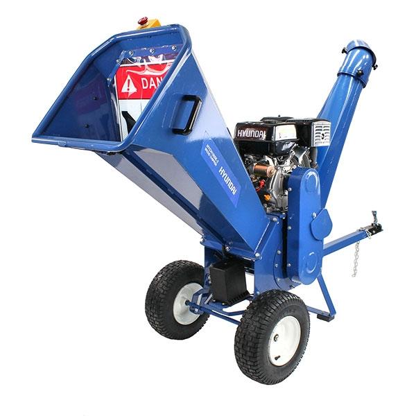 Hyundai HYCH1500E-2 420 cc Petrol 4-Stroke Wood Chipper/Shredder/Mulcher | Hyundai Power Equipment