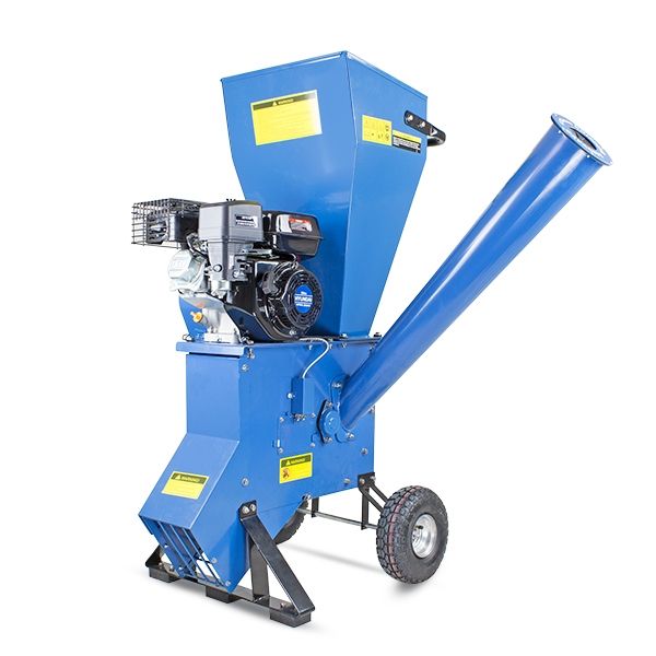 Hyundai HYCH700 208cc 76mm Petrol 4-Stroke Garden Wood Chipper Shredder Mulcher | Hyundai Power Equipment