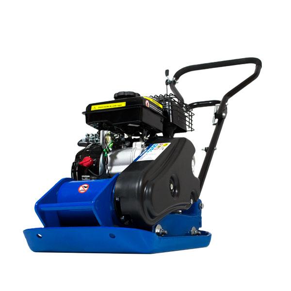 Hyundai HYCP5030 87cc Petrol Plate Compactor / Wacker Plate with Wheel Kit & Paving Pad | Hyundai Power Equipment