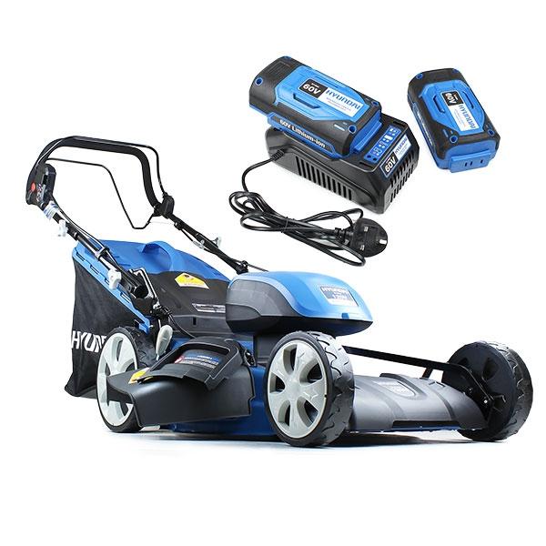 Hyundai HYM120LI510 2 x 60V Lithium Ion Cordless Battery Powered Self Propelled Lawn Mower With 2x Batteries & Charger | Hyundai Power Equipment