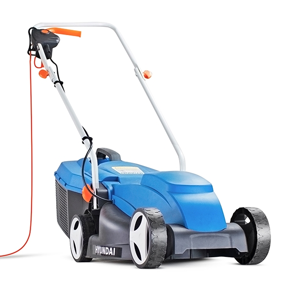 Hyundai HYM3200E Corded Electric 1000W / 240V 32cm Rotary Lawnmower | Hyundai Power Equipment