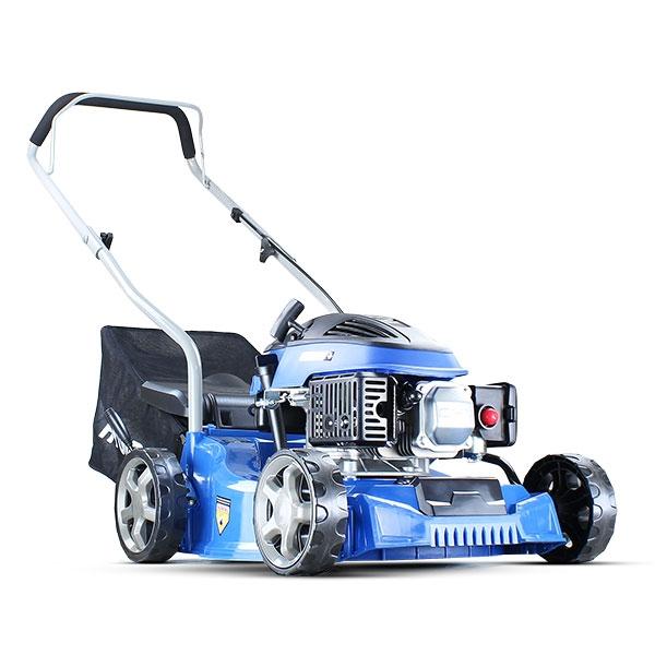 Hyundai HYM400P 79cc / 400mm Push Rotary Petrol Lawn Mower Plus Free 500ml Oil - 3 YEAR WARRANTY | Hyundai Power Equipment