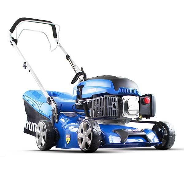 Hyundai HYM430SP Self Propelled 17 43cm 430mm 139cc Petrol Lawn Mower Lightweight Lawnmower - Includes 600ml Engine Oil