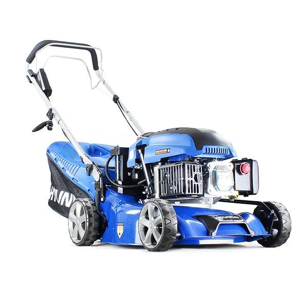 Hyundai HYM430SPE Self Propelled Electric Start 17 42 cm 420mm Petrol Lawn Mower plus 500ml Free Engine Oil