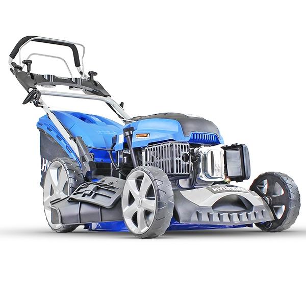 Hyundai HYM510SPE 20 51cm 510mm Self Propelled Lawnmower Electric Push Button Start 196cc Petrol Lawn Mower - Includes 600ml Engine Oil