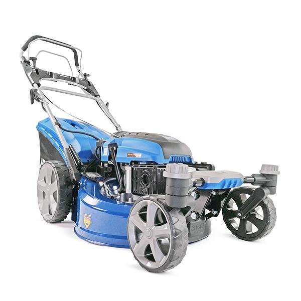 Hyundai HYM510SPEZ 20 51cm 510mm Self Propelled ZERO-TURN ULTRA LOW CUT Lawn Mower Electric Push Button Start 196cc Petrol Lawn Mower - Includes 600ml Engine Oil