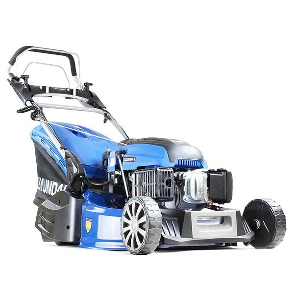 Hyundai HYM530SPER 21 52.5cm 525mm Self Propelled Electric Start 196cc Petrol Roller Lawn Mower - Includes 600ml Engine Oil