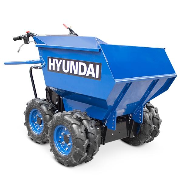 Hyundai HYMD500 196cc 4-Wheel Drive 500kg Payload Mini Dumper / Power Barrow | Hyundai Power Equipment