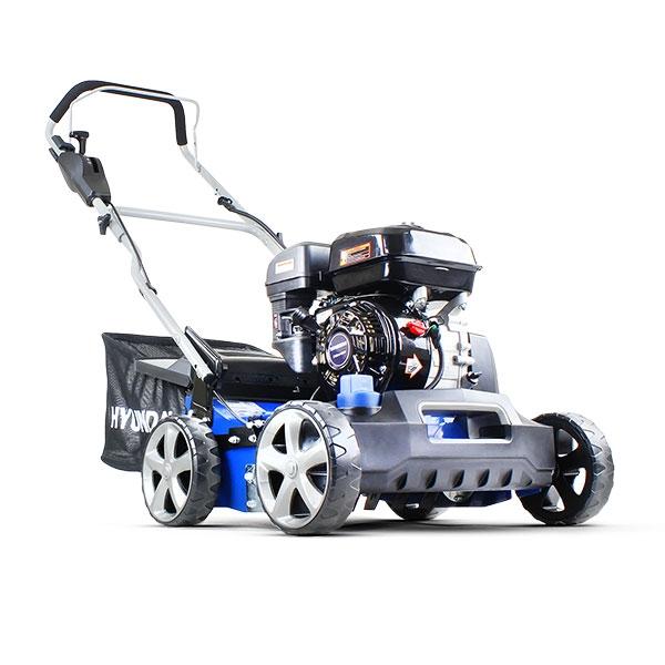 Hyundai HYSC210 Petrol Lawn Scarifier and Aerator Plus Free 600ml Oil | Hyundai Power Equipment