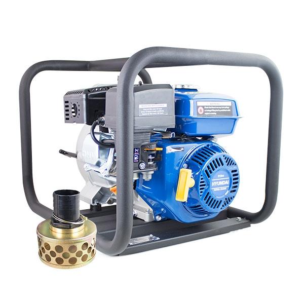 Hyundai HYT80 208cc Professional Petrol Water Trash Pump 3/76mm Outlet