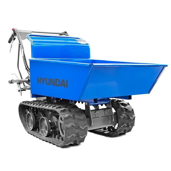 Hyundai HYTD300 196cc Petrol 300kg Payload Tracked Mini Dumper / Power Barrow / Transporter | Hyundai Power Equipment