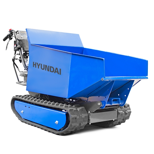 Hyundai HYTD500 196cc Petrol 500kg Payload Tracked Mini Dumper / Power Barrow / Transporter | Hyundai Power Equipment