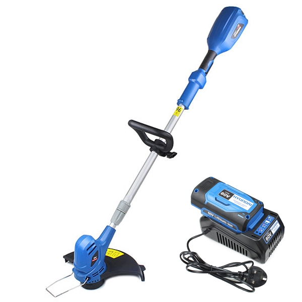 Hyundai HYTR60LI 60v Lithium-ion Cordless Battery Grass Trimmer With Battery & Charger | Hyundai Power Equipment