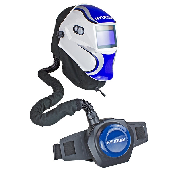Hyundai HYWH-850RM Professional Auto Darkening Air Fed Welding Helmet | Hyundai Power Equipment