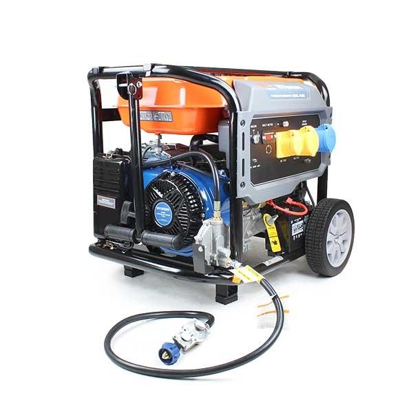 P1PE P10000LELPG 7.9kW / 9.8kVA* Recoil & Electric Start Site Dual Fuel Petrol/LPG Generator (Powered by Hyundai) | Hyundai Power Equipment