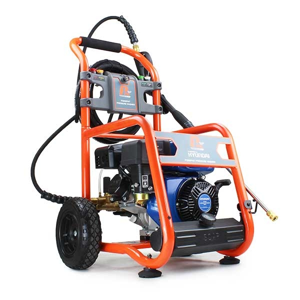 P1PE P3200PWT 3200psi / 214 bar Petrol Pressure Washer (Powered by Hyundai) | Hyundai Power Equipment
